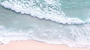 Beach Waves Rio De Janeiro Aerial View 5464x3225 Wallpaper