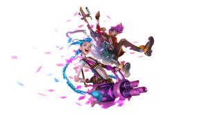 Jinx League Of Legends 2560x1280 Wallpaper