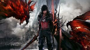 Video Games Final Fantasy XVi Phoenix Ifrit Crystal Video Game Art Digital Art 3840x2160 Wallpaper