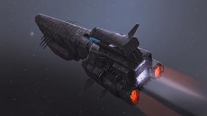 Sci Fi Spaceship 2688x1360 Wallpaper
