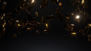 Deadpool Deadpool 2 Bullet Weapon Digital 3d Design 3D Graphics Simple Ammunition Dark 3840x2160 Wallpaper