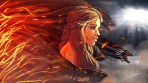 Daenerys Targaryen 1920x1080 wallpaper