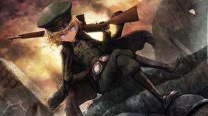 Anime Youjo Senki 3458x2154 wallpaper