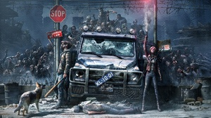 Dark Zombie 1920x1134 wallpaper
