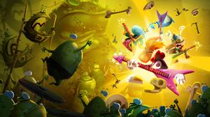 Rayman Legends Video Game Art Video Games Rayman Barbara Globox Toad Shields Bones Skull Guitar Teen 1920x1080 Wallpaper
