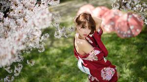 Asian Girl 2048x1366 Wallpaper