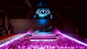 Cyberpunk Cyberpunk 2077 Cyberpunk Samurai V Cyberpunk V Neon City Lights 1920x1080 Wallpaper