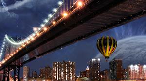 Manhattan Manhattan Bridge New York 1920x1440 Wallpaper