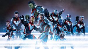 Ant Man Avengers Endgame Black Widow Captain America Hawkeye Hulk Iron Man Nebula Marvel Comics Rock 1920x1280 Wallpaper