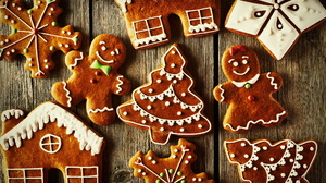 Christmas Cookie Gingerbread 2560x1706 Wallpaper