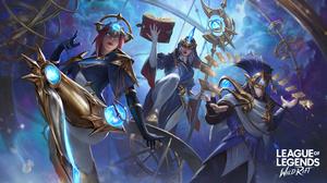 Camille League Of Legends Soraka Soraka League Of Legends Twisted Fate Twisted Fate League Of Legend 3840x2160 Wallpaper