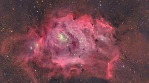 Nebula Pink Sci Fi Space Stars 2048x1612 Wallpaper