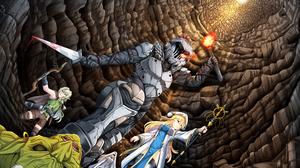Goblin Slayer High Elf Archer Goblin Slayer Priestess Goblin Slayer Sword Maiden Goblin Slayer 3507x2480 Wallpaper