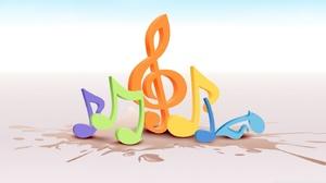 Music 1366x768 wallpaper