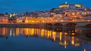 Bridge River Portugal 2560x1707 Wallpaper