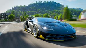 Xbox One Forza Horizon 4 Video Games Screen Shot Racing Car Black Cars Vehicle 1920x1080 Wallpaper