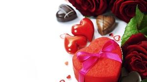 Gift Heart Romantic Rose Still Life 2300x1624 Wallpaper
