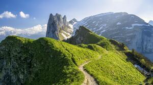 Nature Mountains Switzerland Alps 4979x3320 wallpaper