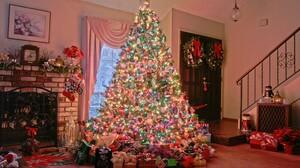 Christmas Christmas Lights Christmas Ornaments Christmas Tree Gift 2560x1600 Wallpaper