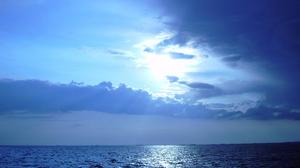 Blue Cloud Earth Horizon Ocean Sea Sky 1920x1536 Wallpaper