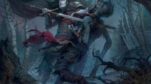 Sword Undead Warrior 3399x2547 wallpaper