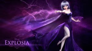 Elsa Frozen Lightning 3000x1775 Wallpaper