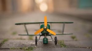 Aircraft Depth Of Field Toy 1920x1280 Wallpaper