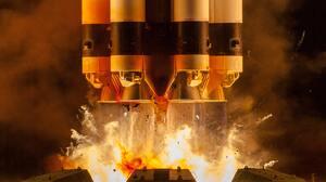 Rocket Launching Proton Rocket Vehicle Fire 4219x2813 Wallpaper