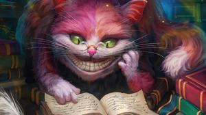 Alice In Wonderland Cheshire Cat Movie 2362x1771 Wallpaper