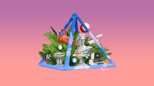 Artistic Vaporwave 3840x2160 Wallpaper