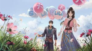 Bilibili Anime Girls Anime Boys 4000x2250 wallpaper