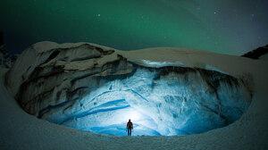 Ice Cave Snow 1920x1080 wallpaper