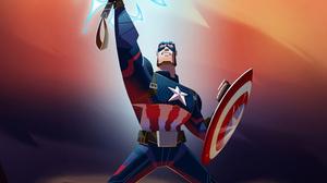 Captain America Marvel Comics 3000x1688 Wallpaper