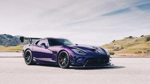Sport Car Dodge Viper Dodge Car Purple Car 2048x1365 wallpaper