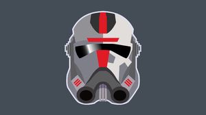 Star Wars Bad Batch Star Wars Bad Batch Helmet Clone Trooper TV Series Minimalism Gray Background Po 2160x3840 Wallpaper