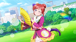 Love Live Love Live Series Nishikino Maki Anime Girls 3600x1800 wallpaper