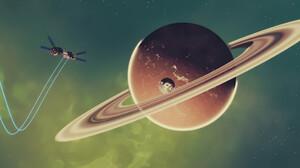 Space Planet 3840x1620 Wallpaper