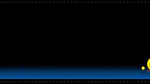 Pac Man Video Game 2560x1024 Wallpaper