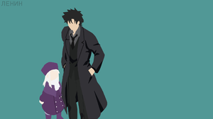 Anime Black Hair Boy Coat Fate Series Fate Zero Girl Hat Illyasviel Von Einzbern Kiritsugu Emiya Min 1920x1080 Wallpaper