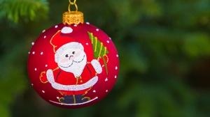 Christmas Christmas Ornaments Depth Of Field Santa 1920x1280 Wallpaper