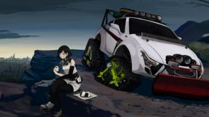 Anime Original 3000x1334 wallpaper