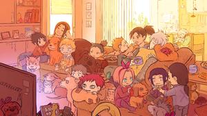 Gaara Naruto Hinata Hy Ga Ino Yamanaka Naruto Naruto Uzumaki Neji Hy Ga Sakura Haruno Sasuke Uchiha  2000x1622 Wallpaper