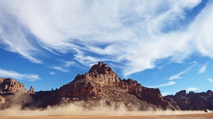 Africa Algeria Cloud Desert Dust Hoggar Mountains Mountain Tassili N 039 Ajjer 4608x3072 Wallpaper