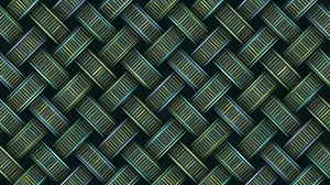 Texture Pattern 3D Vintage Abstract 3D Abstract Structure Grunge Metal Colorful Stripe Green 6000x3000 Wallpaper
