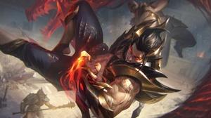 League Of Legends Sett League Of Legends 4096x2476 wallpaper