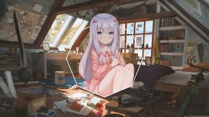 Anime Girls Anime Picture In Picture Eromanga Sensei Izumi Sagiri 3840x2160 Wallpaper