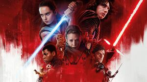 Adam Driver Carrie Fisher Chewbacca Daisy Ridley Domhnall Gleeson Finn Star Wars General Hux John Bo 9737x5478 Wallpaper
