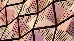 Texture Architecture Abstract Steel Metal Modern Panels Pattern 4000x3000 Wallpaper