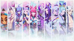 Spirit Blossom Teemo Teemo League Of Legends Yasuo Yasuo League Of Legends Kindred League Of Legends 3840x2160 Wallpaper