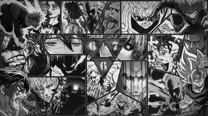 Manga Anime Games Naruto Anime Uzumaki Naruto Shingeki No Kyojin Eren Jeager Nanatsu No Taizai Melio 1600x900 Wallpaper